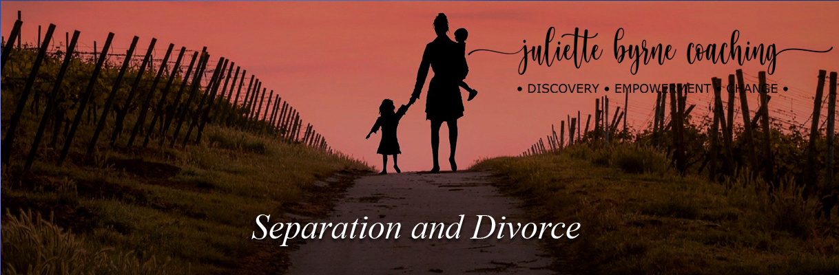 Seperation and Divorce Learning to cope through professional coaching